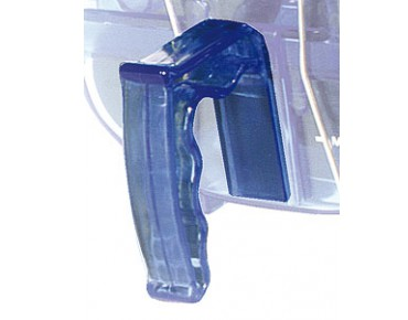 Xtreme ergonomic guide handle for Caretec blue