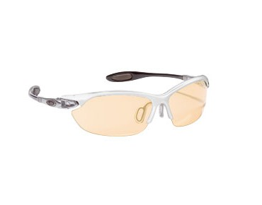 ALPINA Brille TWIST THREE white/varioflex orange