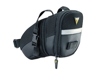 Topeak Medium Aero Wedge Pack Strap saddle bag