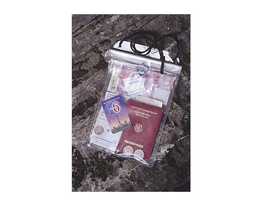 ORTLIEB document case transparent