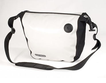 ORTLIEB Shoulder bag Zip-City incl. inside bag white/black