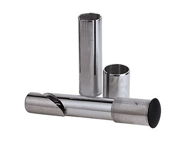 Universal aluminium stem shaft silber