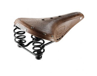 Brooks Flyer Aged men's saddle brown