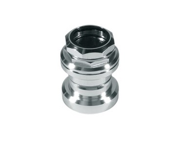 Tange cartridge threaded headset silver