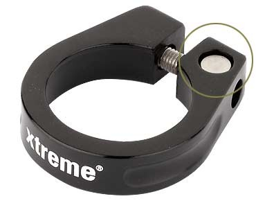 Xtreme Pro seat tube clamp black