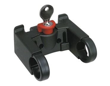 KLICKfix handlebar adapter - lockable black