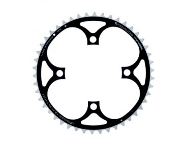 TA Chinook 9-speed chainring 46 teeth black/silver