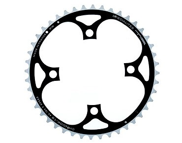 TA Chinook 9-speed chainring 44 teeth schw/sil.