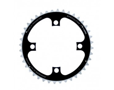 TA Chinook 9-speed chainring 40 teeth black/silver