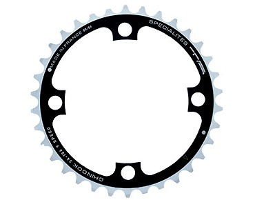TA Chinook 9-speed chainring 34 teeth black/silver
