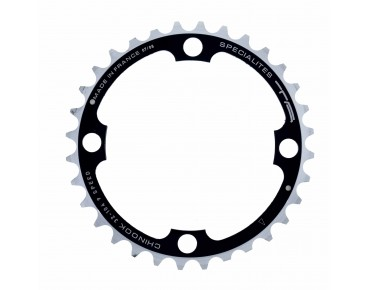 TA Chinook 9-speed chainring 32 teeth schw/sil.