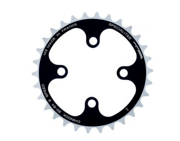 TA Chinook 9-speed chainring 30 teeth black/silver