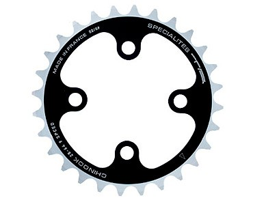 TA Chinook 9-speed chainring 28 teeth schw/sil.