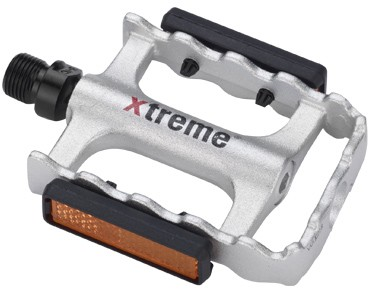 Xtreme Pro F-197 pedals silber