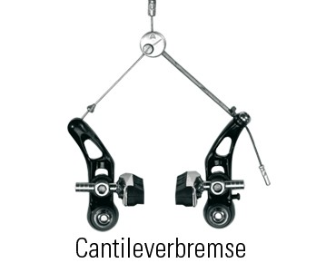 SHIMANO M65T Cantilever brake shoes