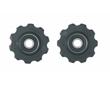 Tacx T4000 10-tooth derailleur wheels black