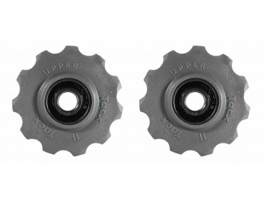 Tacx T4060 11 tooth derailleur wheels grau