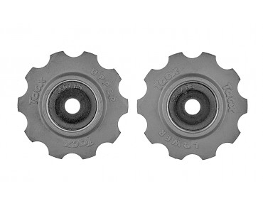 Tacx T4020 10-tooth derailleur wheels dark grey