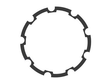 SHIMANO 7-speed spacer