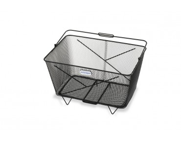 Zinsmayer front/rear bicycle basket black