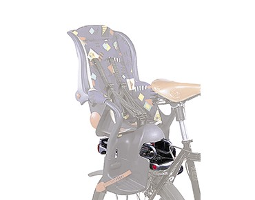 Pletscher child carrier seat adapter with suspension