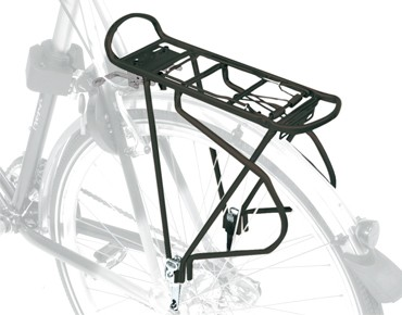 ROSE Squaretube Alu pannier rack black
