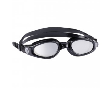 Aqua Sphere Kaiman swimming goggles black/mirrored lenses