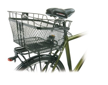 Topeak MTX Basket Rear bicycle basket black