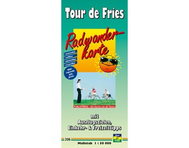 Publicpress Radwanderkarte Tour de Fries