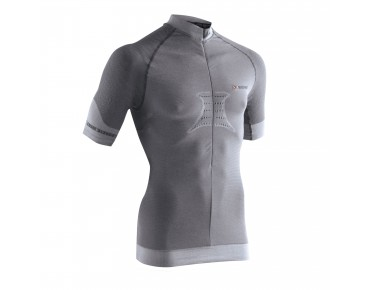 X BIONIC FENNEC Trikot anthracite/silver