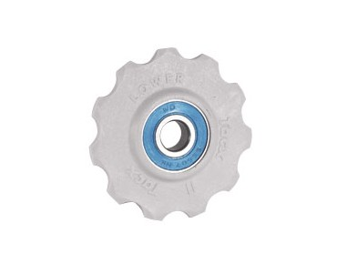 Tacx T4025 10-tooth derailleur wheels grau