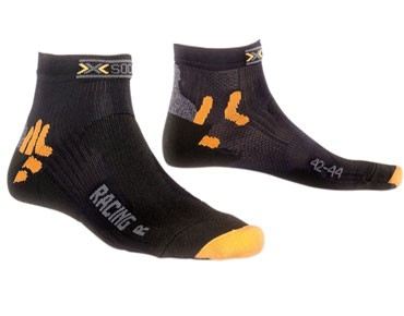 X SOCKS BIKE RACING Socken black