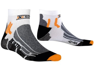 X SOCKS BIKING ULTRALIGHT Socken white/black