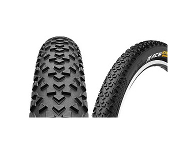 Continental Race King MTB tyre, folding tyre black/black