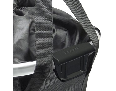 Reisenthel BIKEBASKET handlebar bag with KLICKfix mount black
