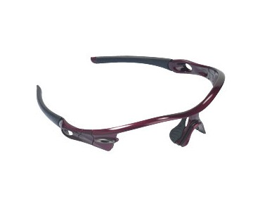 OAKLEY RADAR eyeglass frame metallic red