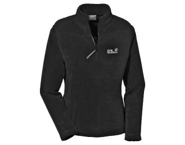 Jack Wolfskin ladies fleece sweater REBELITA black