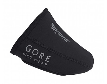 GORE BIKE WEAR ROAD WINDSTOPPER SOFT SHELL toe covers black