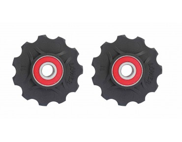 Xtreme Big Wheels KC11 derailleurwieltjes zwart