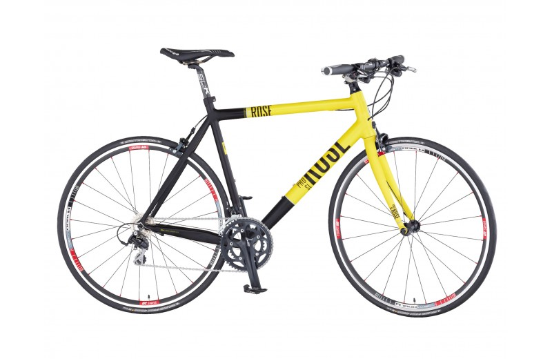 ROSE Multiroad Pro-SL 2000 Compact matt-yellow/black