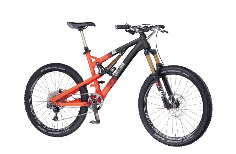 ROSE UNCLE JIMBO 3 2014 vulcano-orange/matt-black