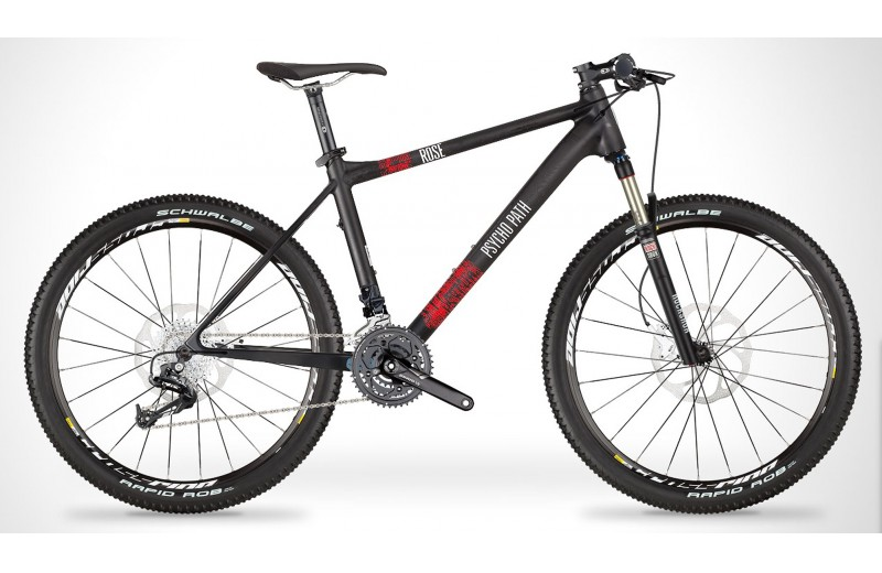 PSYCHO PATH 1 2013 carbon-matt/red-white