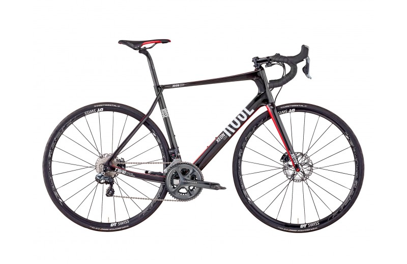 ROSE XEON CDX-3100 Di2 DISC shiny-UD-carbon/red