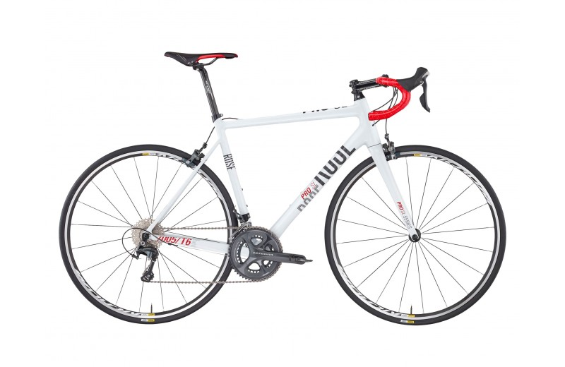 ROSE PRO SL-3000 BIKE NOW! shiny-white/grey-red