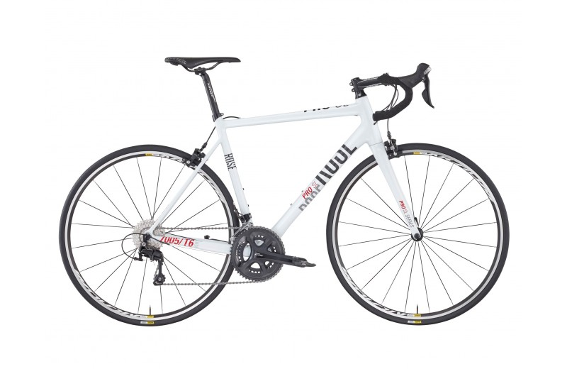 ROSE PRO SL-2000 BIKE NOW! shiny-white/grey-red