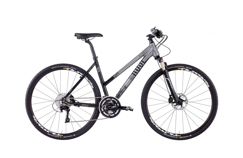 ROSE MULTISPORT 29ER FITNESS DAMEN iron-grey/shiny-black
