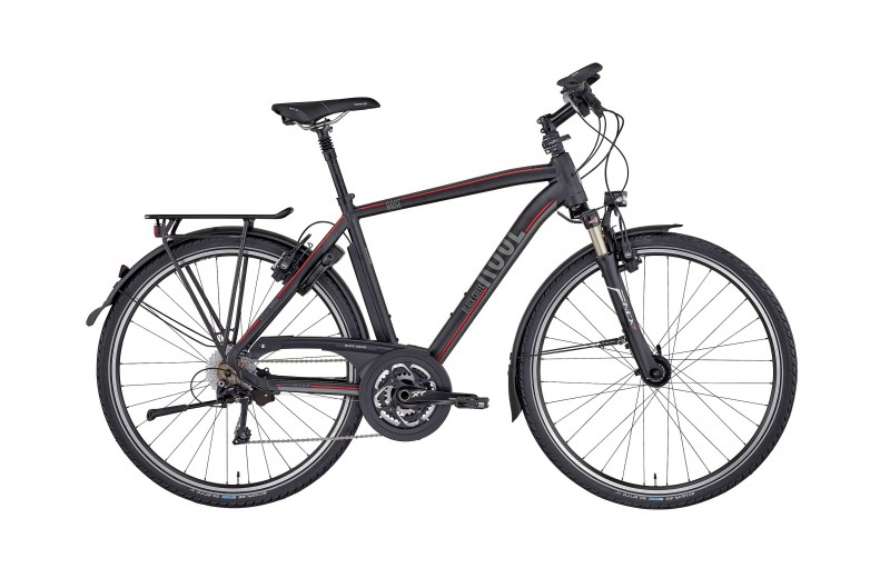 ROSE BLACK CREEK-4 TREKKING HERREN BIKE NOW! anodized black