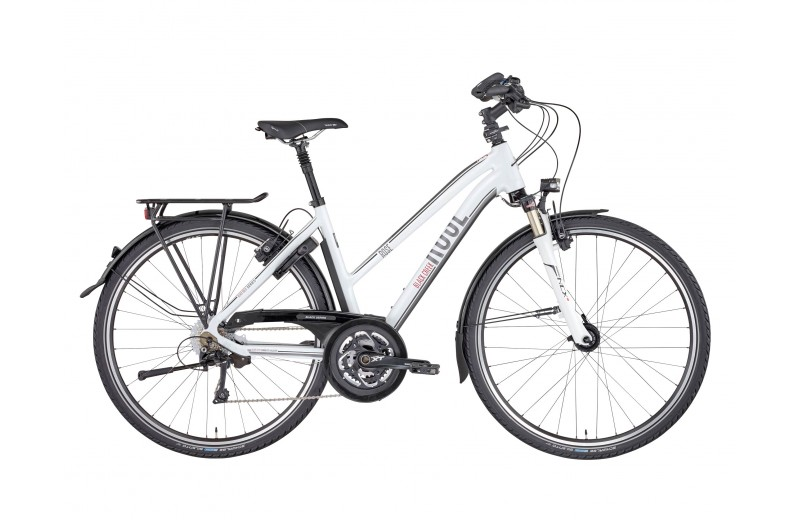 ROSE BLACK CREEK-4 TREKKING DAMEN BIKE NOW! shiny-white
