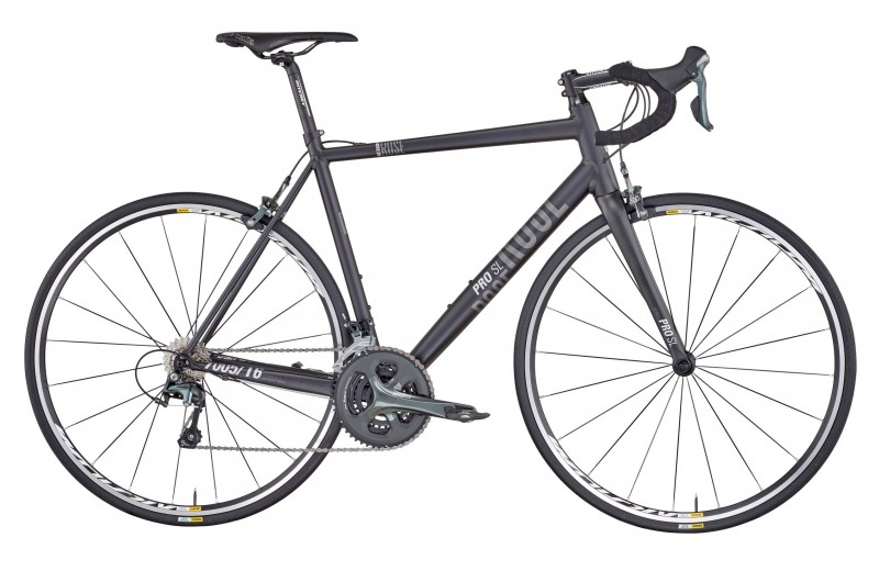 ROSE PRO SL-1000 BIKE NOW! anodized-black/grey-white