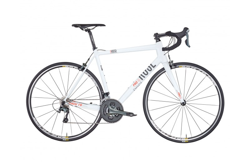 ROSE PRO SL-1000 BIKE NOW! shiny-white/grey-orange